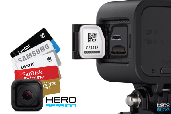 le migliori micro SD per HERO Session