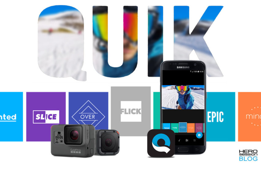Quik mobile, il video editing tascabile