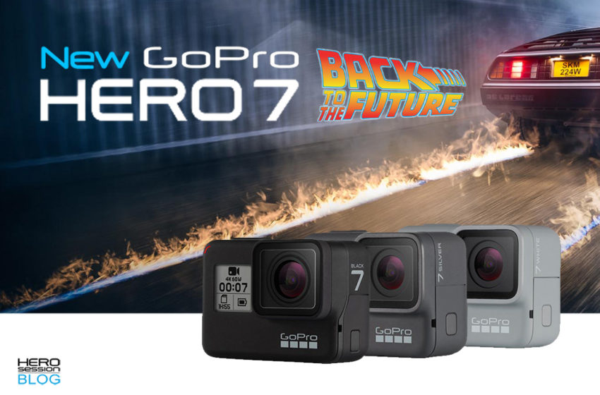 Nuove GoPro HERO7, back to the future