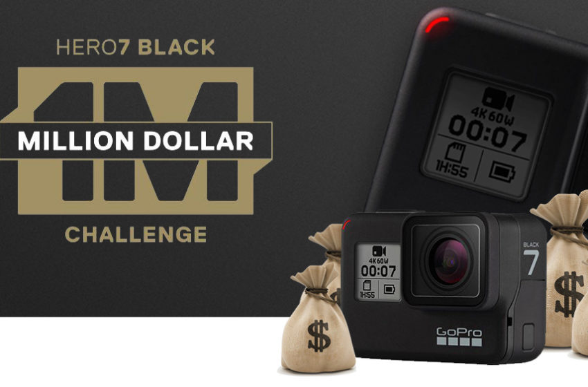 GoPro Million Dollar Challenge, come vincere il bottino