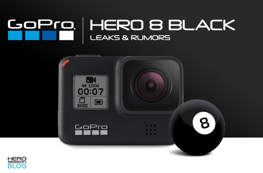 Leaks e rumors sulla GoPro HERO8 Black – Come sarà: foto e specifiche