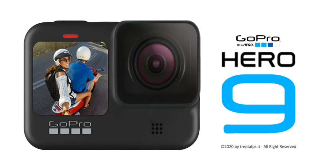 Rendering GoPro HERO9 Black by trentafps.it